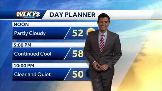 Continued cool Thursday