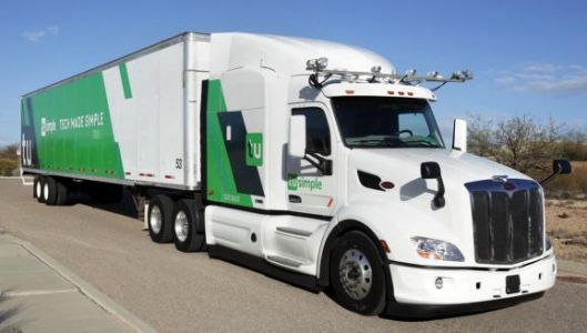Driverless trucks ride at night with TuSimple's improved camera system