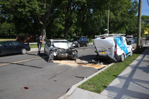 60-year-old dead after crashing into parked van
