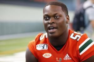 Quarterman returns to Miami with a lofty personal goal