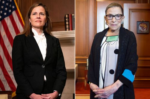 Amy Coney Barrett given Ruth Bader Ginsburg's former court chambers