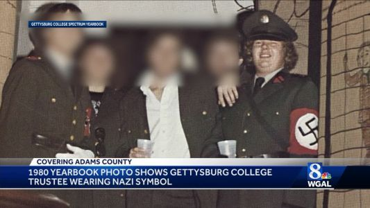 Gettysburg College trustee steps down after 'Nazi' photo surfaces