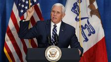 Mike Pence Cites False Statistic On Terrorists At The Southwest Border