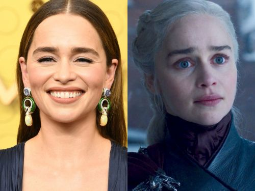 Emilia Clarke called herself an idiot for not taking anything from the 'Game of Thrones' set, but she did beg for a wig