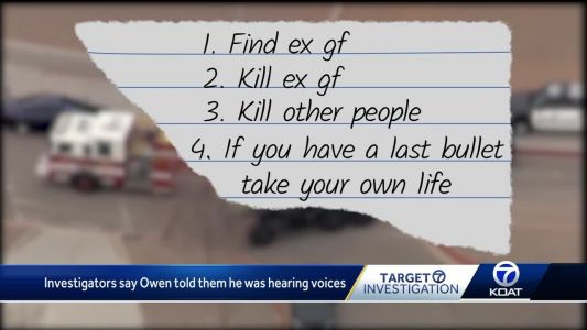 Police: Note says 16-year-old planned to shoot ex-girlfriend, others at school