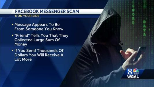 Couple loses $15,000 to Facebook Messenger scam