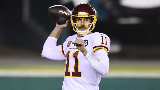 Report: Washington Football Team officially parts ways with quarterback Alex Smith