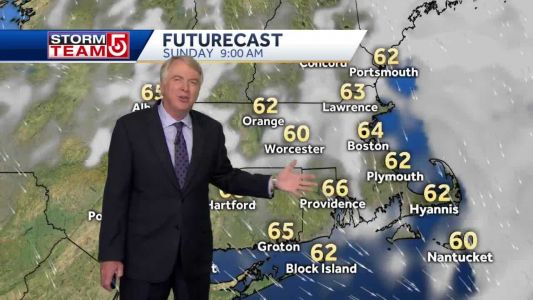 Video: Humidity to drop after storm system moves offshore