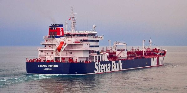 Iran claims it seized a British tanker because it collided with an Iranian fishing boat