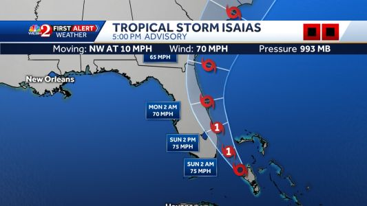 Volusia issues voluntary evacuation order for parts of county
