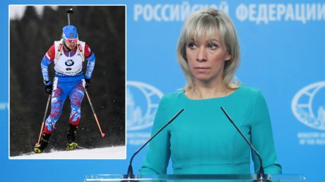 Russian biathletes questioned in Austria for doping