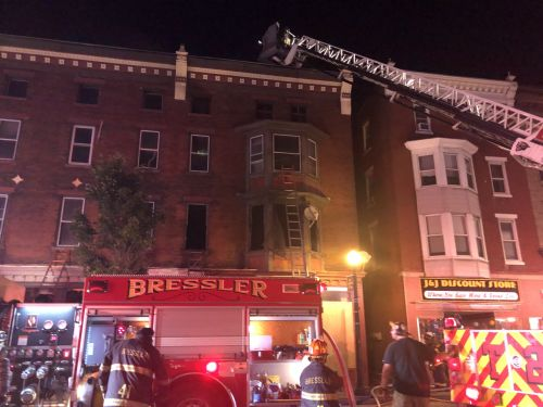 Fire damages three story building in Steelton