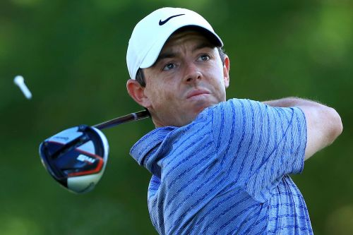 Rory McIlroy tied for lead despite saying he didn't play his 'best'