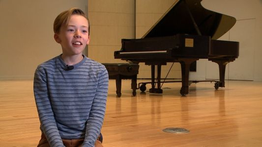 Omaha boy known as 'little Mozart' composes music for renowned event in New York City