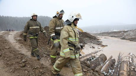 Rescue efforts ongoing after 15 people killed in dam collapse at Siberian gold mine