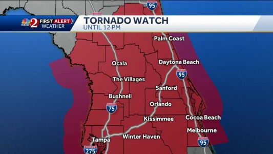 Tracking severe weather threat in Central Florida