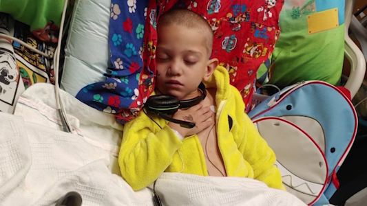 6-year-old boy receives new heart after a 4-year wait