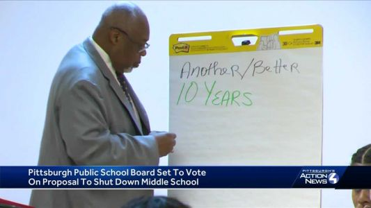 Pittsburgh Public School board to vote on proposal to shut down middle school