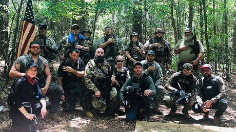 Ultra-right-wing militia leader predicts end of America by 2021 and warns of a looming civil war