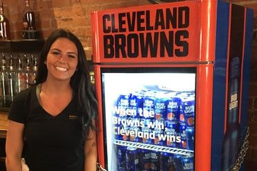 Cleveland fans in line for free beer - if Browns can finally win