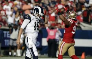 Rams' once-elite offense smashed on McVay's 'humbling day'