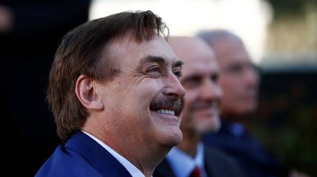 'Thank you,' says MyPillow's Mike Lindell as he's finally sued by Dominion after months of begging
