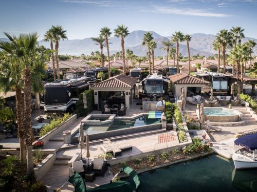 Take a look inside the top luxury RV resort in the US, where lots sell for up to $800,000 and come with infinity pools and private boat docks