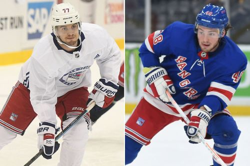 Limited options for Tony DeAngelo, Brendan Lemieux in Rangers contract standoffs