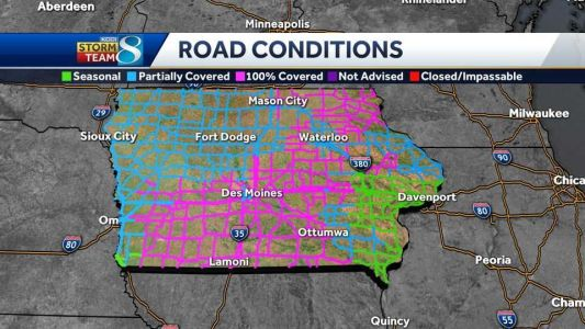 Blizzard Warning: Significant travel impacts Friday