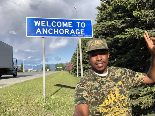 He has mowed lawns for free in all 50 states five times. This time, it was for veterans
