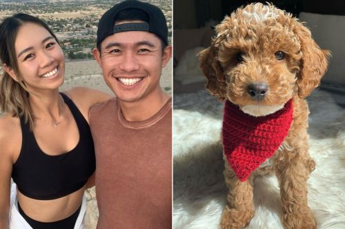 How Collin Morikawa honored Tiger Woods with girlfriend and dog's help