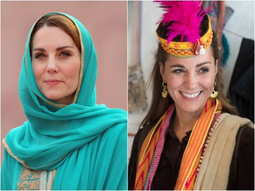 Every time Kate Middleton paid tribute to Pakistan with her royal tour wardrobe