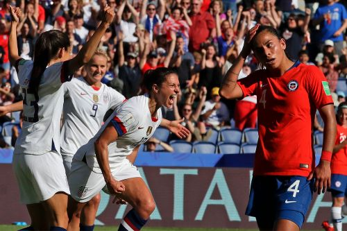 USWNT shuts out Chile, trolls critics in another World Cup win