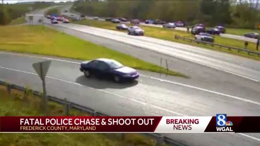 Man fatally shot by police after chase from Pennsylvania into Maryland
