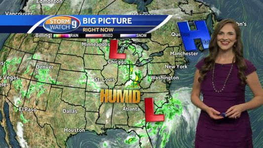 Watch: Nice start, rainy end for weekend
