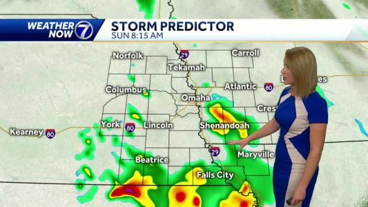 Storm chances increase tonight and Monday