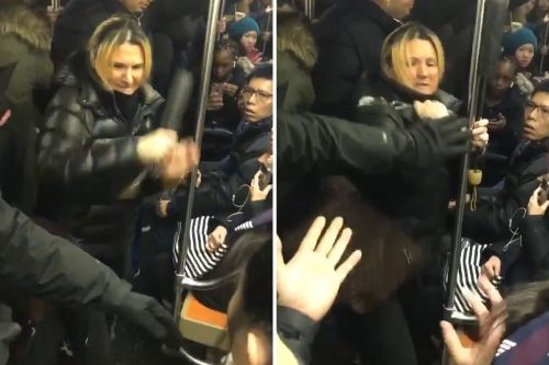 Straphanger makes citizen's arrest after hell breaks loose on subway