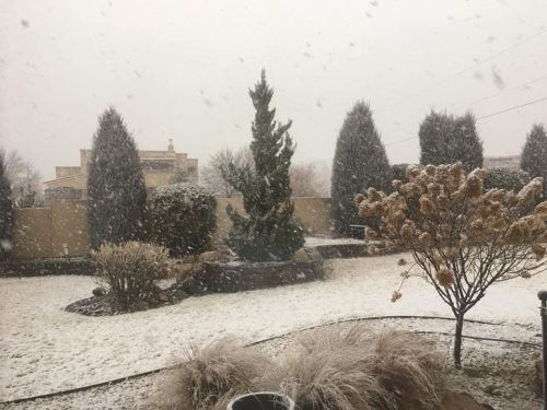 Winter weather hits the Land of Enchantment