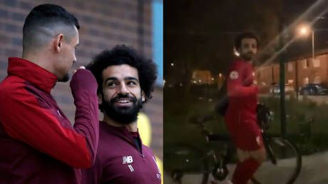 Salah trolled by Liverpool teammate Lovren with incredible lookalike video