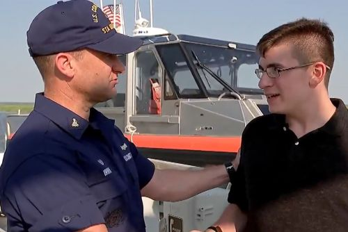 Teen stranded in ocean for hours recalls survival on hellish trip