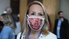 CPAC Attendees Boo, Yell 'Freedom!' After Being Told To Wear Masks