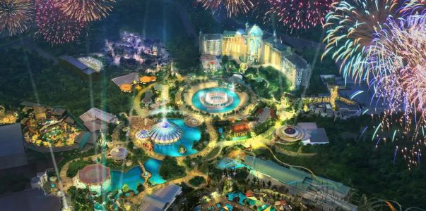 Construction resumes at Universal Orlando's Epic Universe theme park