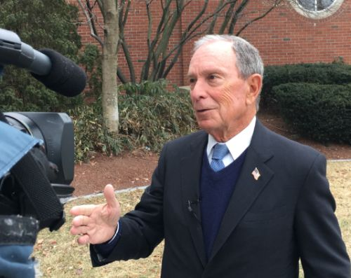 Bloomberg campaign to open Manchester office Monday as part of multi-state bus tour
