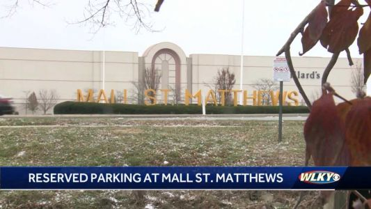 Patrons can reserve parking spot at Mall St. Matthews during holiday season for fee