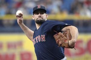 Big first inning lifts Red Sox past Rays