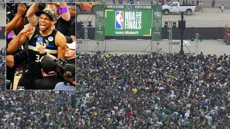 'Terrifying moments': Party turns sour with gunshots reported as Milwaukee fans mark first NBA Finals win in 50 years