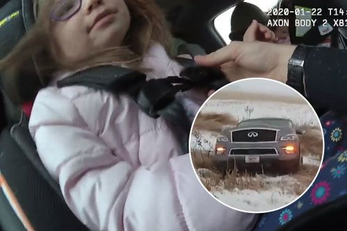 Compassionate trooper uses his 'Frozen' knowledge to calm girl in accident