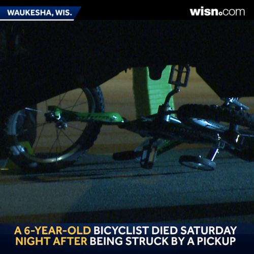 Boy, 6, killed after crash with pickup truck