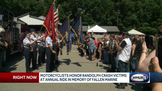 Motorcyclists honor Randolph crash victims at annual ride in memory of fallen Marine