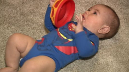Super Baby! Parents name son after super hero